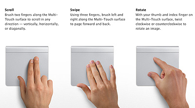 Great multi-touch touchpad